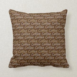 コーヒー豆の恋人の枕 クッション