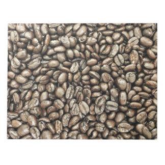 コーヒー豆の構造の質 ノートパッド