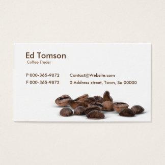 コーヒー豆の貿易業者 名刺
