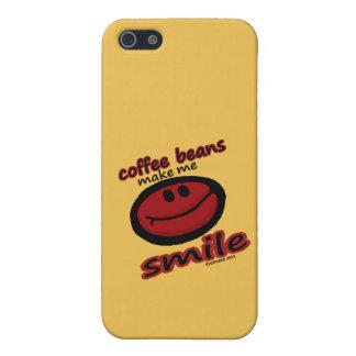 コーヒー豆は私を微笑させます iPhone 5 ケース