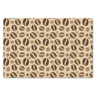 コーヒー豆パターン 薄葉紙