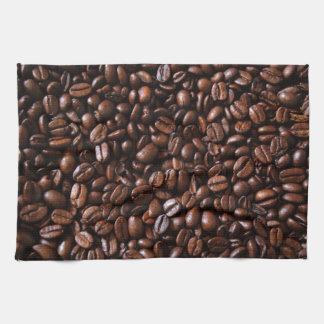 コーヒー豆 キッチンタオル