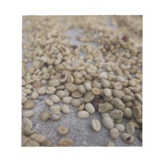 コーヒー豆 ノートパッド
