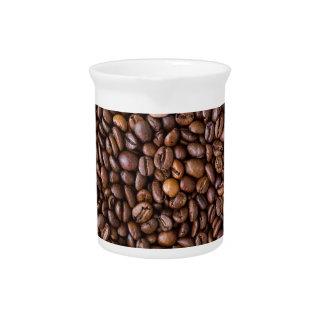 コーヒー豆! ピッチャー