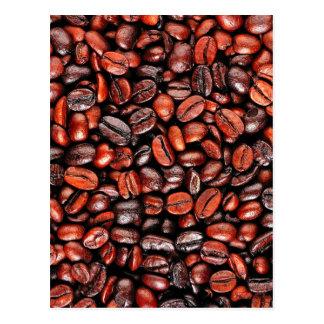 コーヒー豆 ポストカード