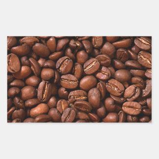 コーヒー豆 長方形シール