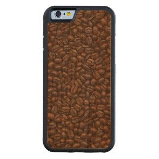 コーヒー豆 CarvedチェリーiPhone 6バンパーケース