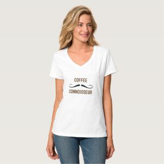 コーヒー鑑識家のワイシャツ Tシャツ