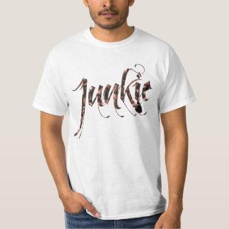 コーヒー麻薬常習者のワイシャツ Tシャツ