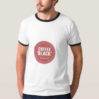 コーヒー黒 Tシャツ