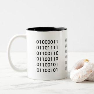 コーヒー101 ツートーンマグカップ