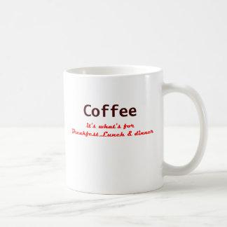 コーヒー、それはであるものが夕食のためです コーヒーマグカップ