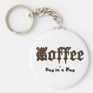 コーヒー-ゴシック様式マグの    抱擁 キーホルダー