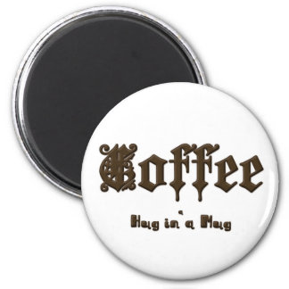コーヒー-ゴシック様式マグの    抱擁 マグネット
