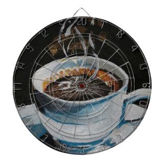 コーヒー ダーツボード