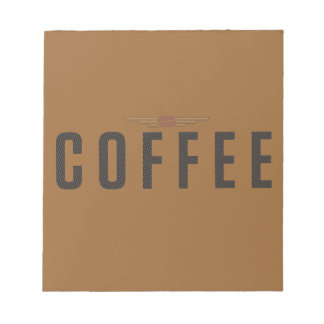コーヒー ノートパッド