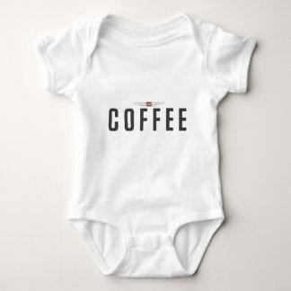 コーヒー ベビーボディスーツ