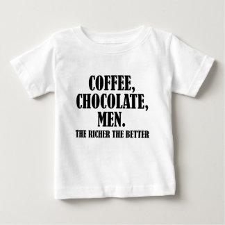 コーヒー ベビーTシャツ