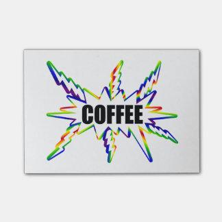 コーヒー ポストイット