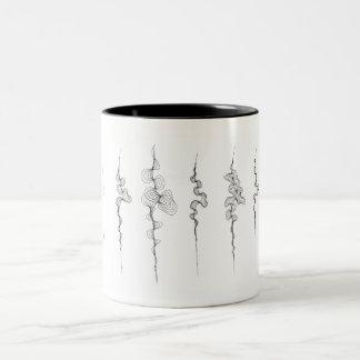 コーヒー・マグのカーブ第2の系列 ツートーンマグカップ