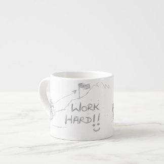 コーヒー・マグのデザインのオンラインハードワークのインスピレーション エスプレッソカップ