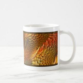コーヒー・マグのフラクタルデザイン(プリズム珊瑚礁) コーヒーマグカップ