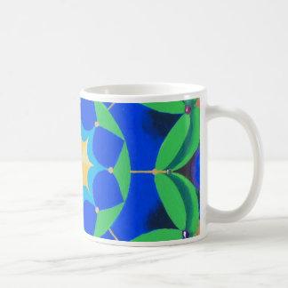コーヒー・マグの孔雀ミシェールアンドリュース コーヒーマグカップ