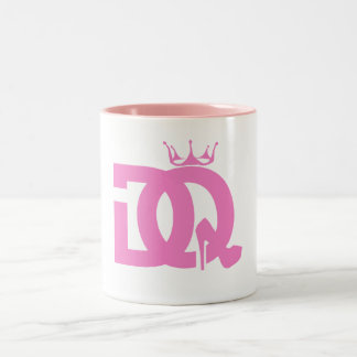 コーヒー・マグのDQのロゴ ツートーンマグカップ