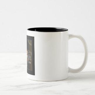 コーヒー・マグのLaurie Killian StarrのCDカバー ツートーンマグカップ