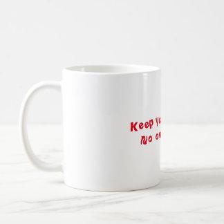 コーヒー・マグはあなたの気性を保ちます コーヒーマグカップ