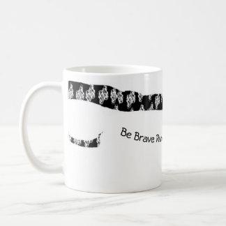 コーヒー・マグは勇敢です コーヒーマグカップ