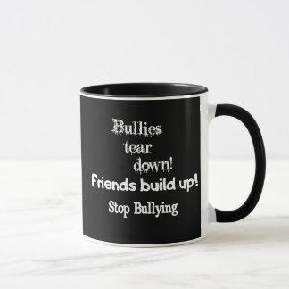 コーヒー・マグをいじめることを止めて下さい マグカップ