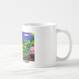 コーヒー・マグ: コショウとの旅行猫 コーヒーマグカップ