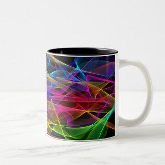 コーヒー・マグ-ライト(夜)のリボン ツートーンマグカップ
