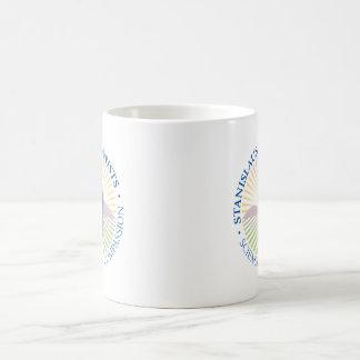 コーヒー・マグ-円形のロゴ コーヒーマグカップ