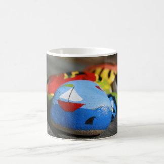 コーヒー・マグ-色彩の鮮やかな船員の写真 コーヒーマグカップ