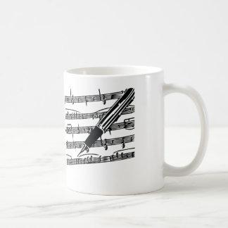 コーヒー・マグ-音楽的なインスピレーション コーヒーマグカップ