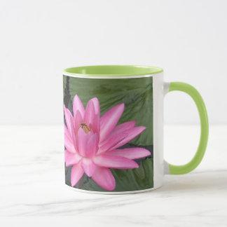 コーヒー・マグ- 2ピンクの《植物》スイレン マグカップ