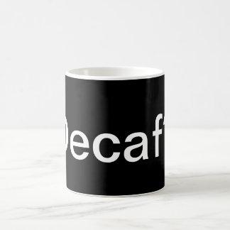 コーヒー・マグ- Decafか。 コーヒーマグカップ