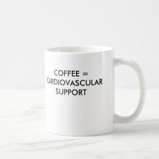 コーヒー=心血管サポート コーヒーマグカップ