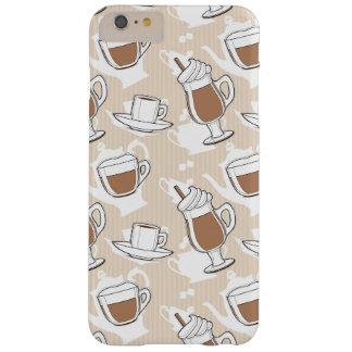 コーヒー、甘いパターン BARELY THERE iPhone 6 PLUS ケース