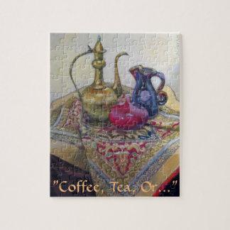 """コーヒー、茶、または… """" ジグソーパズル"""