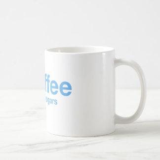 コーヒー(黒2の砂糖) Hashtagのマグ コーヒーマグカップ