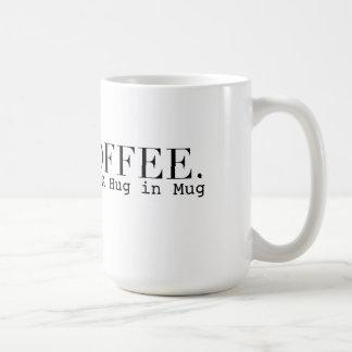 コーヒー(n.)マグ|の上品のタイポグラフィの抱擁 コーヒーマグカップ
