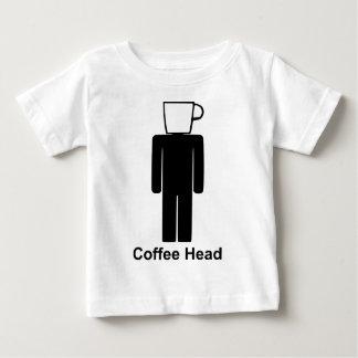 コーヒーhead.png ベビーTシャツ