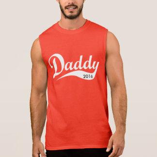 コーラのスタイルのお父さんのTシャツ 袖なしシャツ