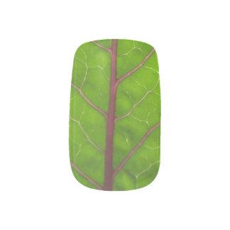 コールラビの葉の~のネイル ネイルアート