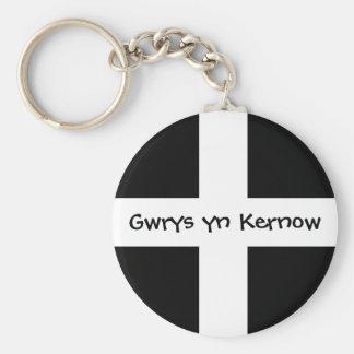 コーンウォールで作られるGwrysのyn Kernow - キーホルダー