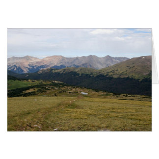 ゴアの範囲、ロッキー山国立公園、コロラド州 カード