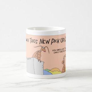 ゴキブリの積み込みライン コーヒーマグカップ